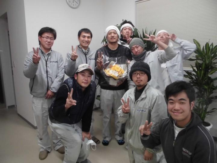 木島さんと全員