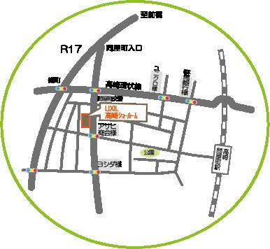 リクシル地図