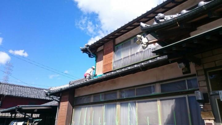 養生屋根2