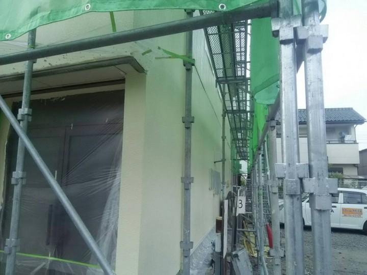 外壁中塗り (2)